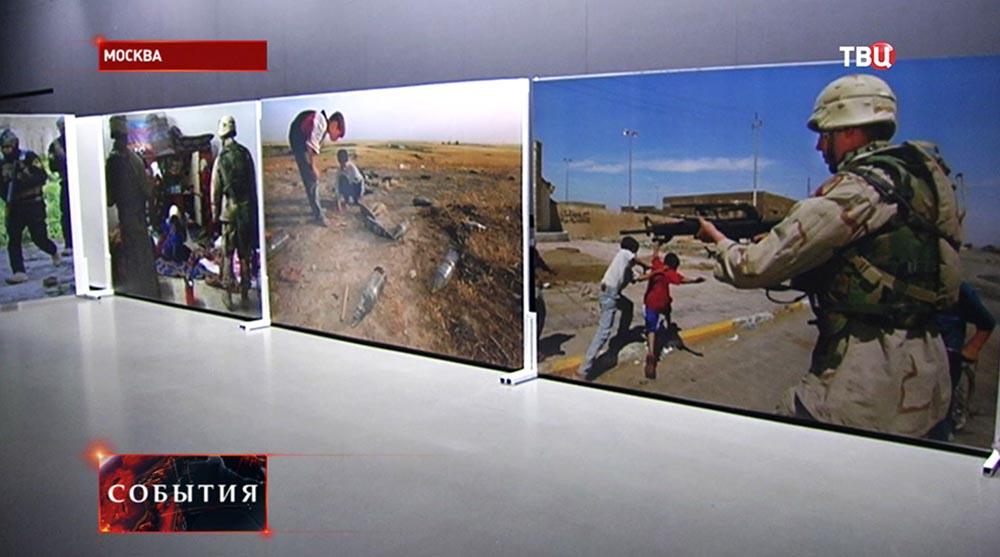 Фотовыставка войны в Ираке