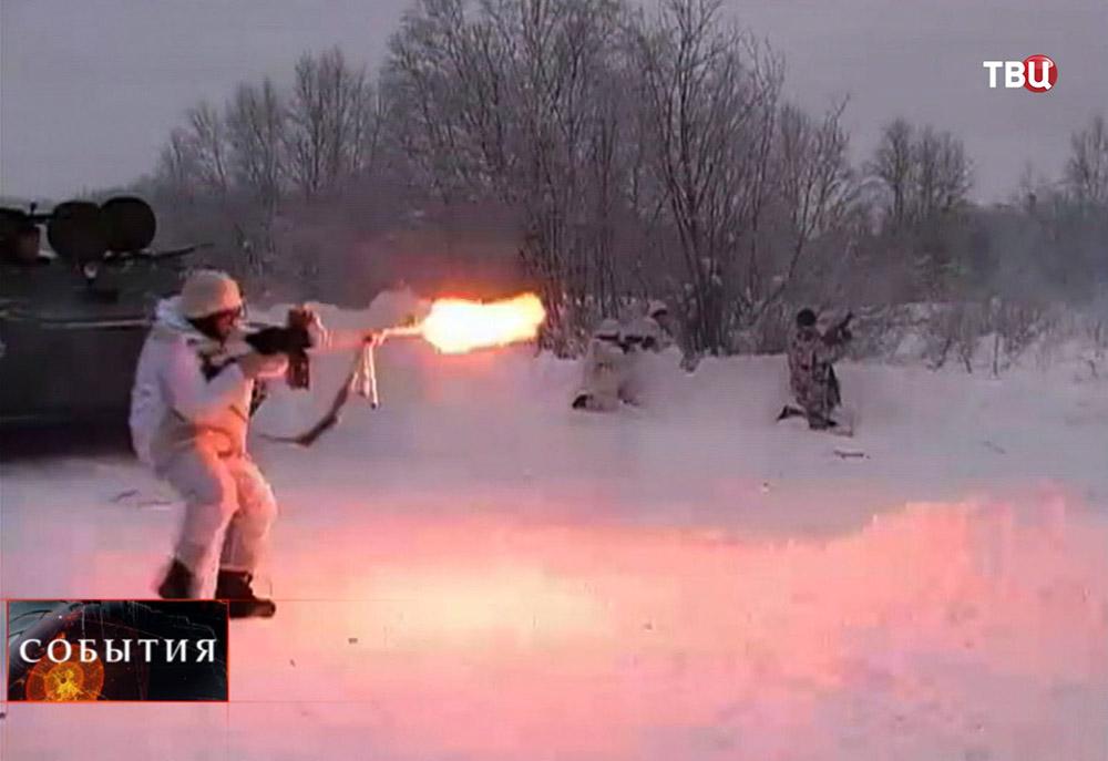 Воинские учения