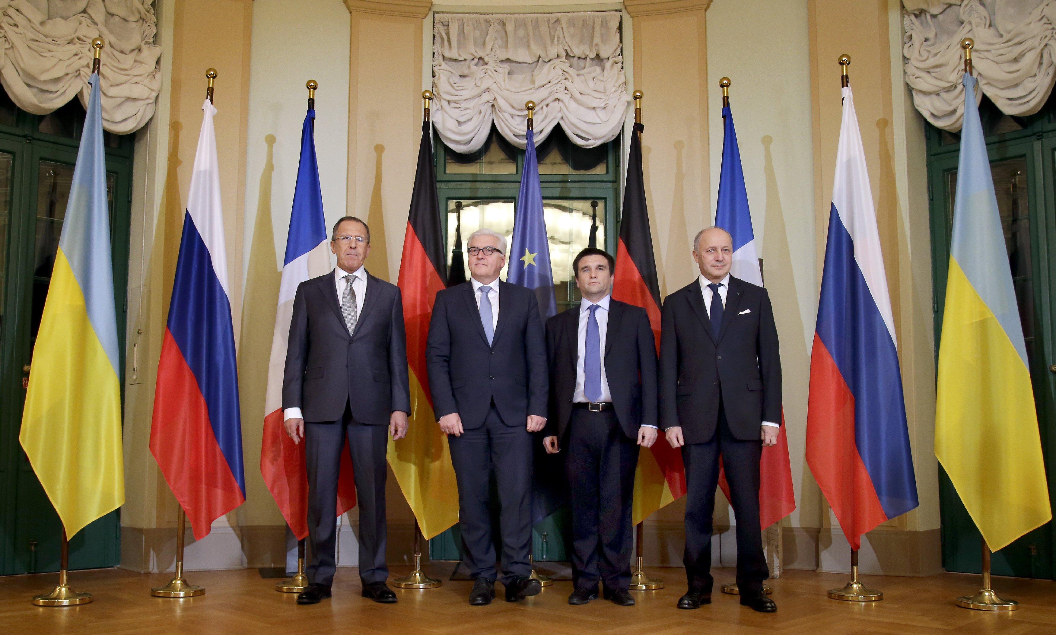 Встреча министров иностранных дел в Берлине
