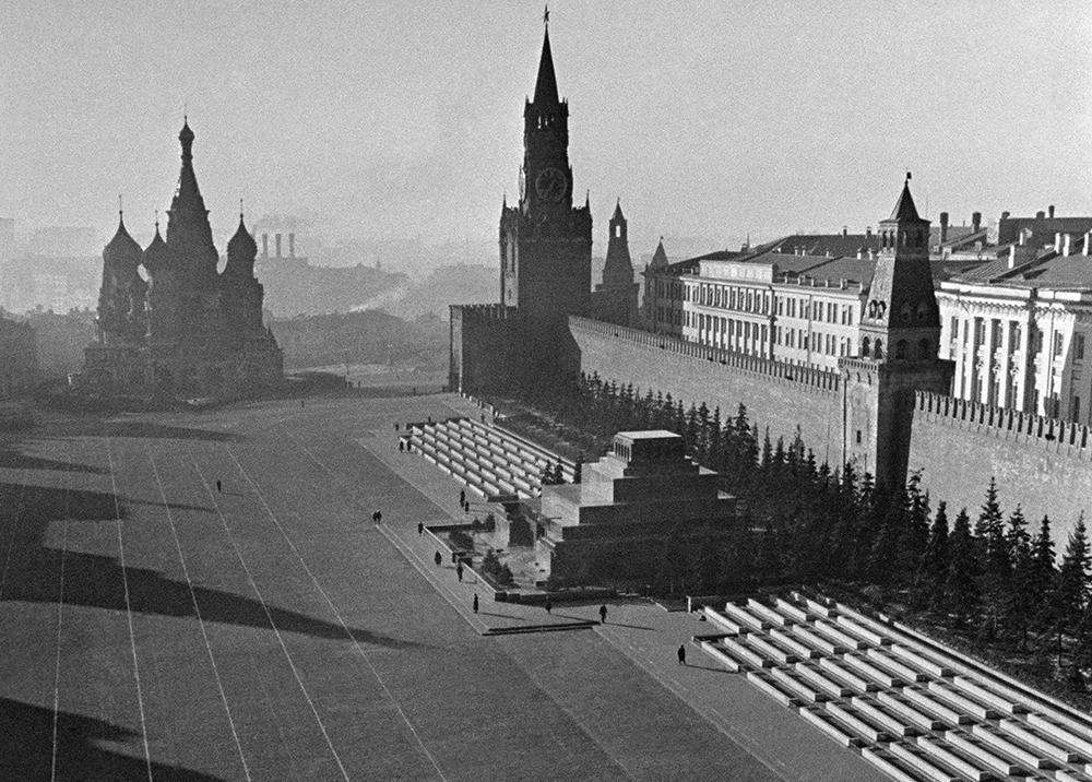 Красная площадь 1941 год