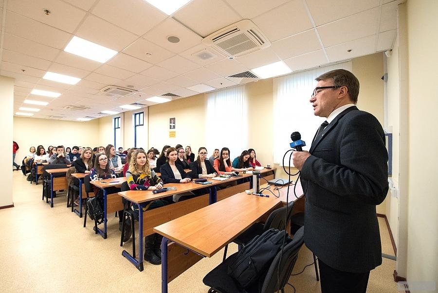 Осмотр нового учебного корпуса НИУ «Высшая школа экономики»