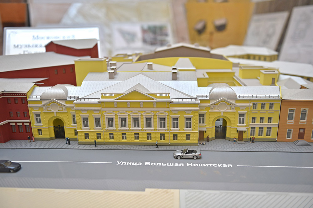 "Реконструкция театра ""Геликон-опера"""