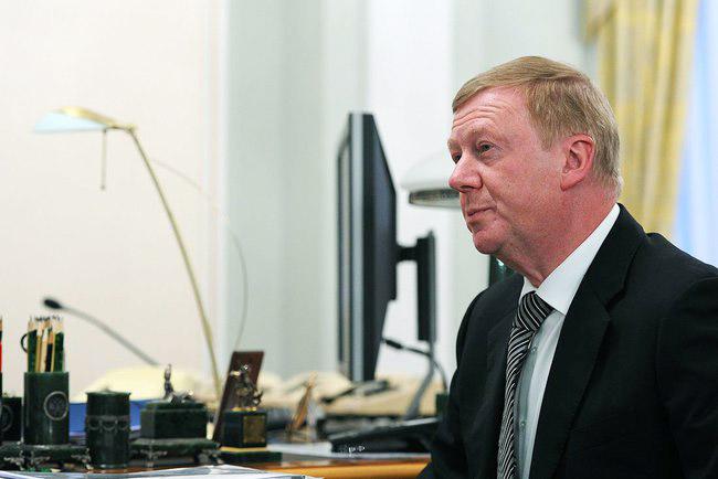 Председатель правления ОАО «РОСНАНО» Анатолий Чубайс