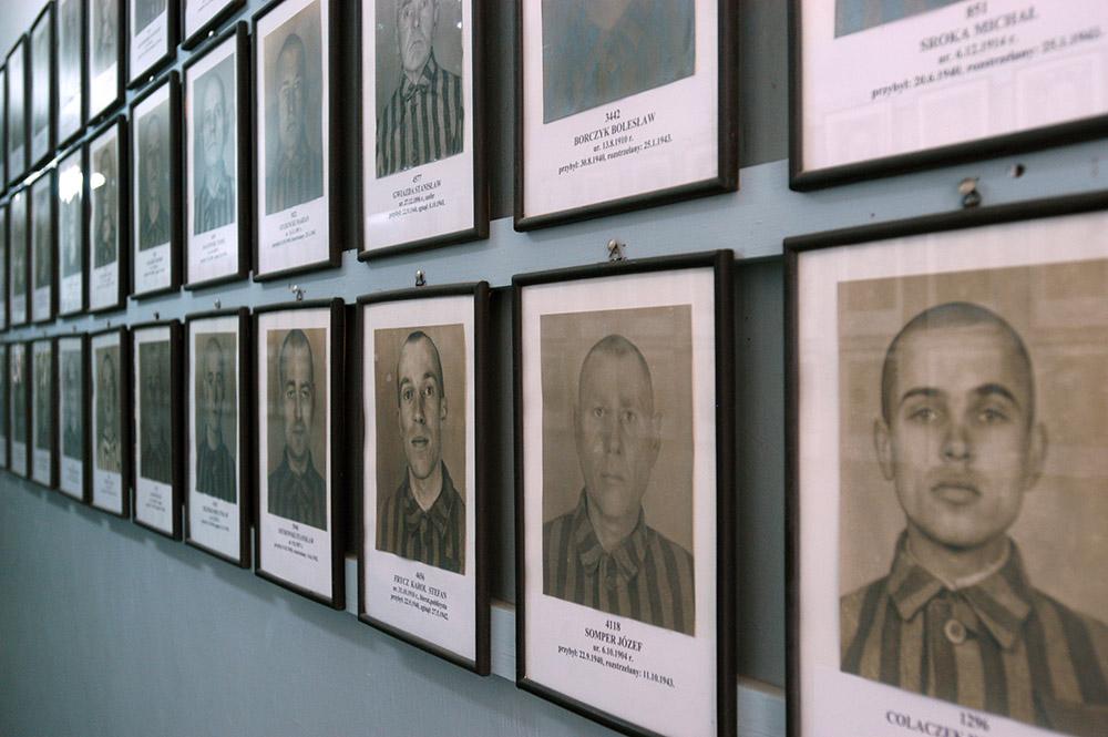Фото узников Освенцима