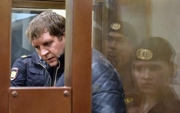 Боец смешанных единоборств Александр Емельяненко в суде