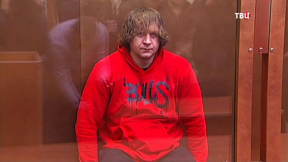 Борец Александр Емельяненко в суде