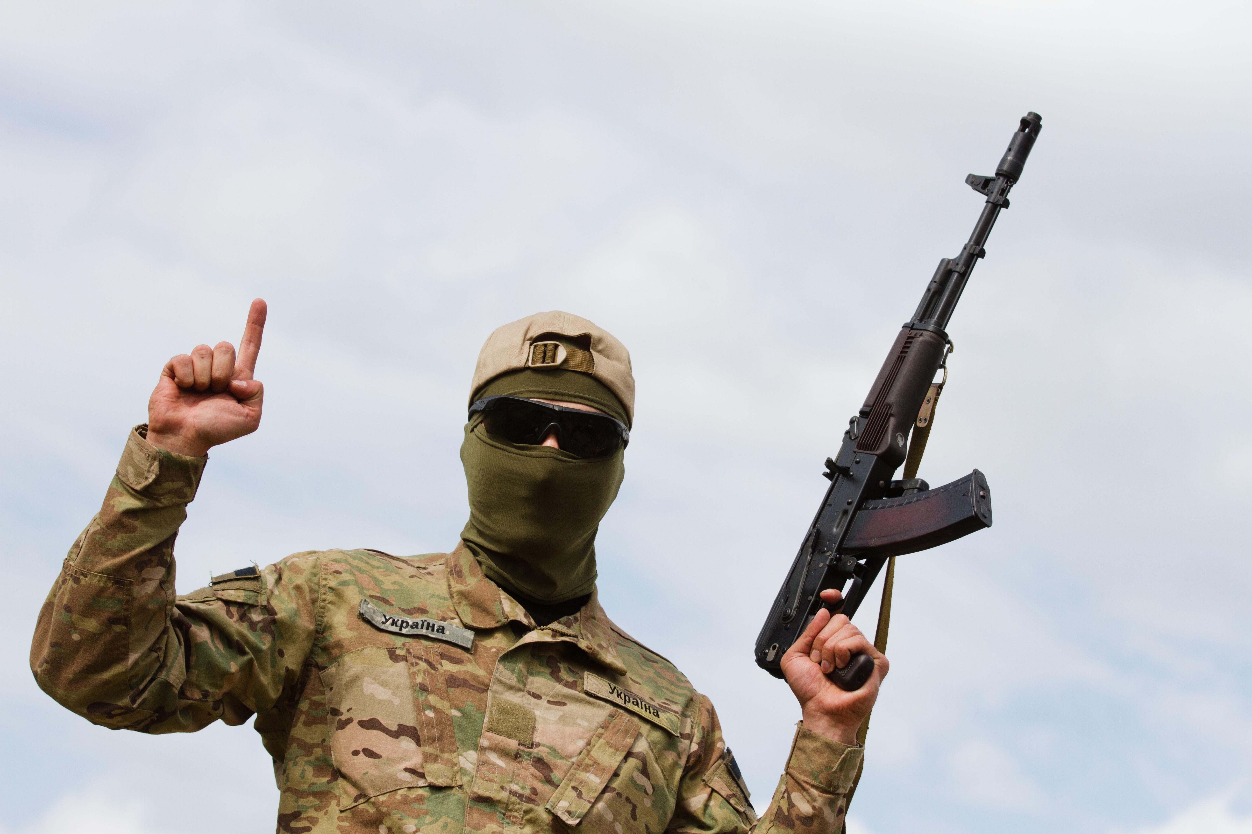 """Боевик батальона """"Айдар"""""""