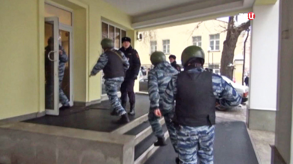 """Штурм саентологической """"церкви"""" в Москве"""