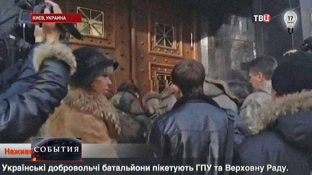 Забастовка на Украине