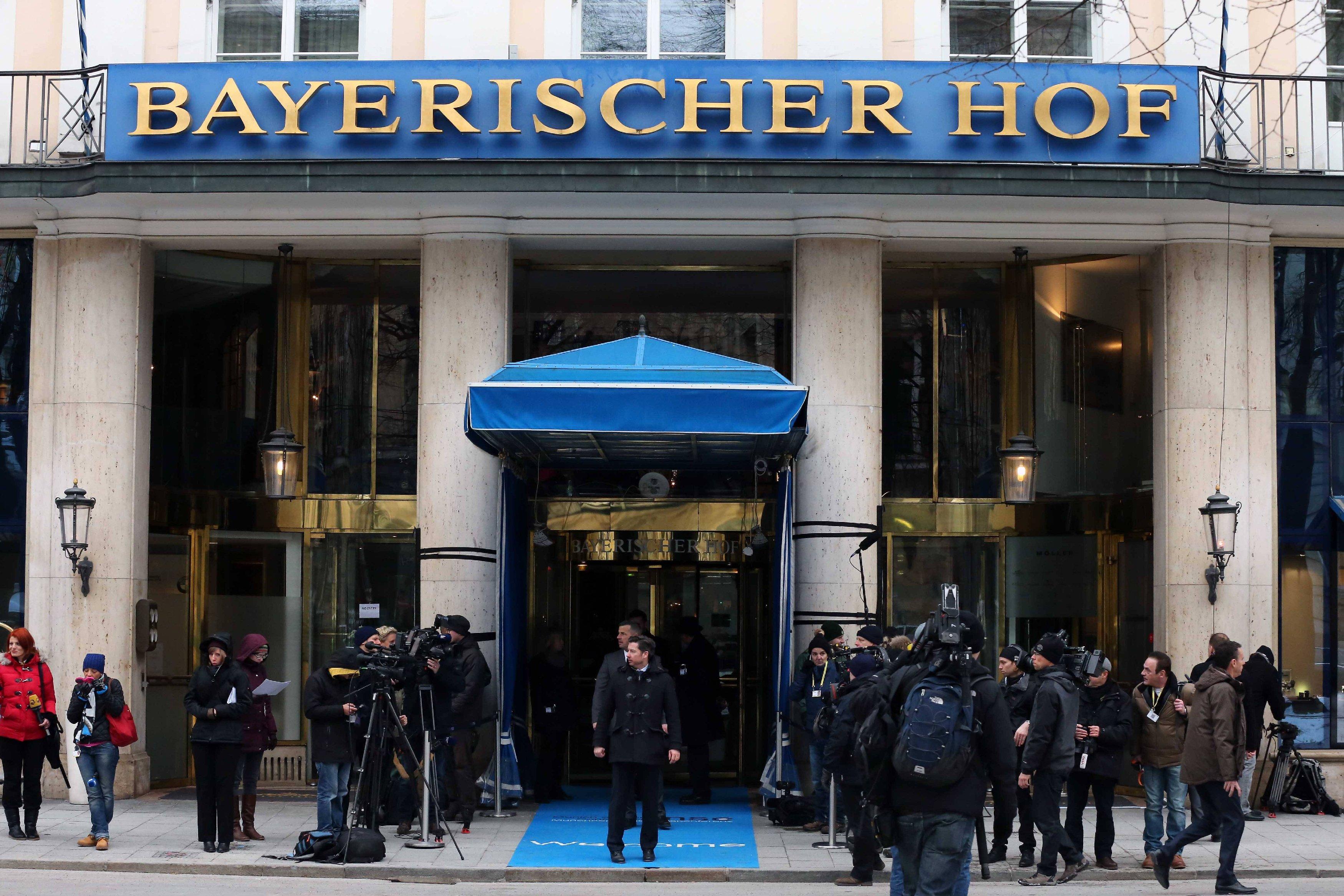 Отель Bayerischer Hof, где открылась конференция по безопасности