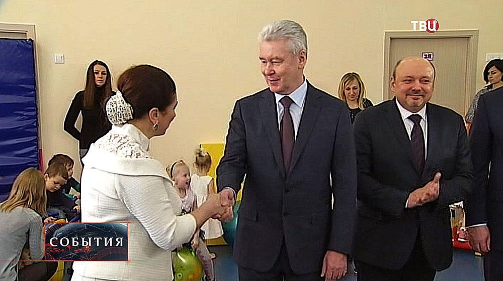 Сергей Собянин в новом детском саду
