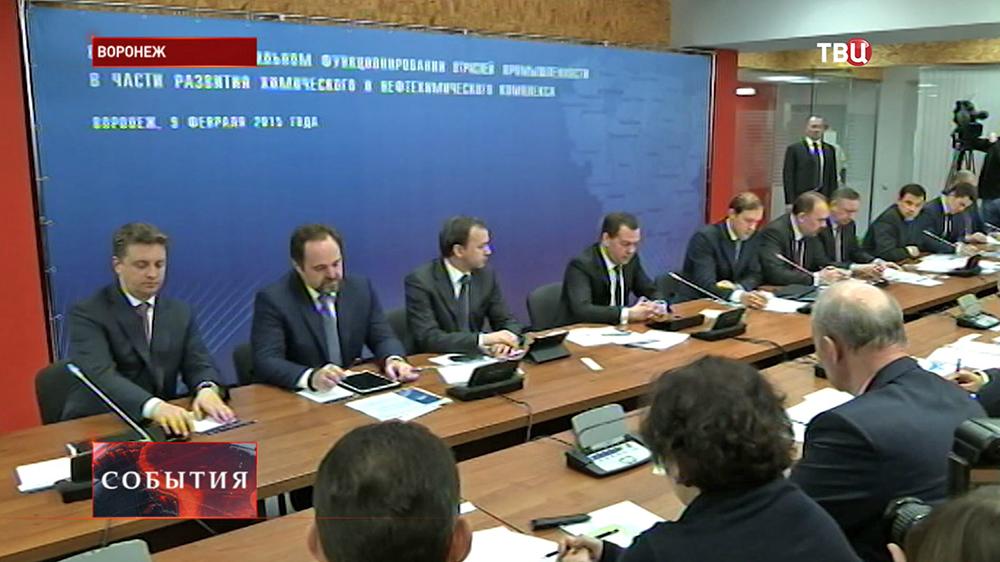 Дмитрий Медведев провел совещание в Воронеже