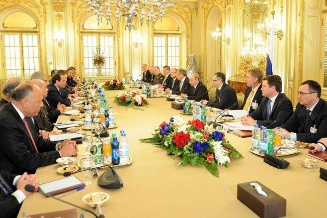 Российско-египетские переговоры