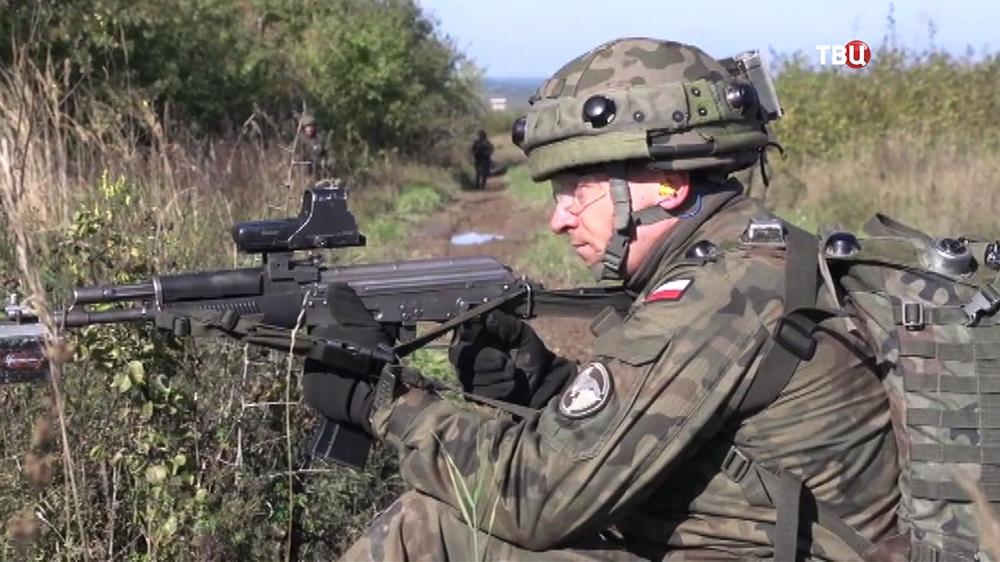 Военнослужащие армии Польши