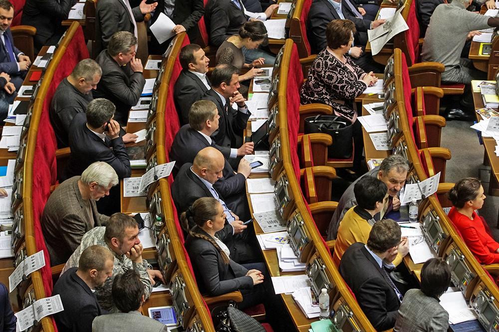 Депутатов Верховной рады Украины