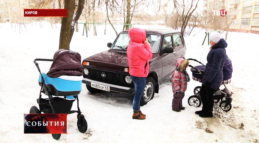 На месте происшествия в Кирове
