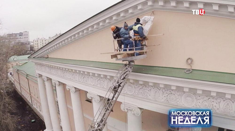 Реставрация Ново-Екатерининской больницы