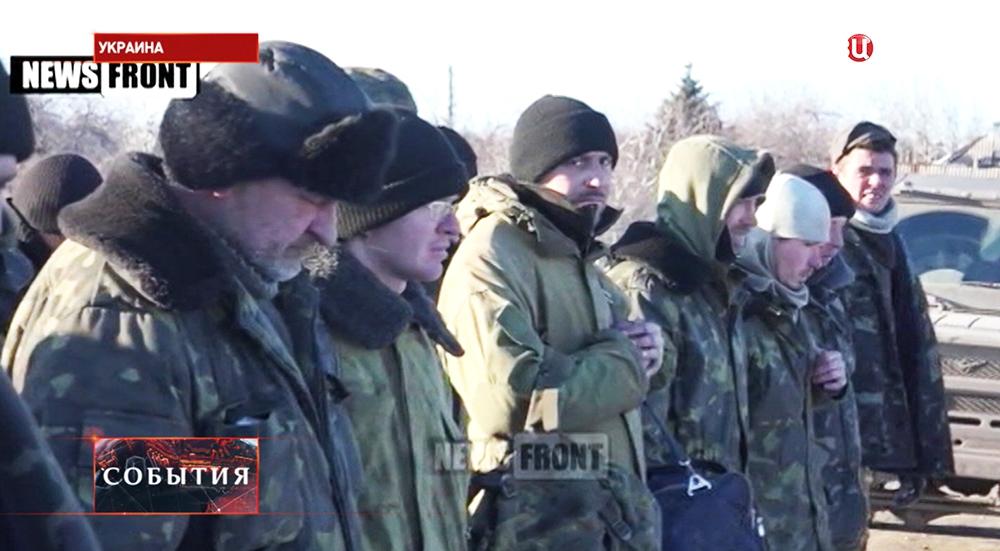 Пленные украинские солдаты
