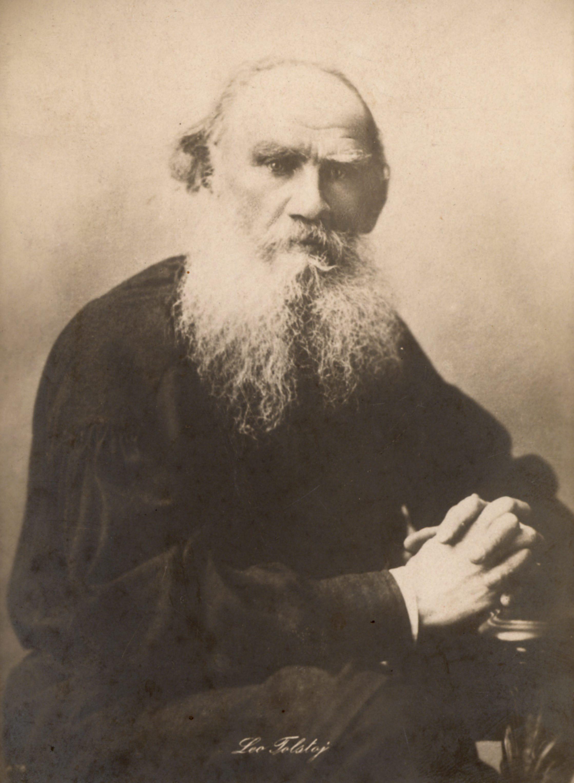 Фотокарточка Льва Толстого