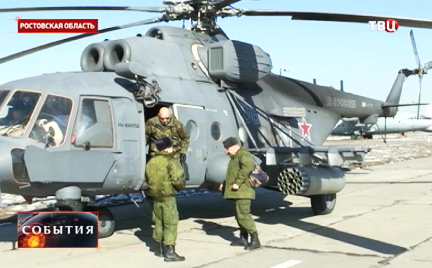 Инспекция нидерландских военных совместно с коллегами из Германии и Дании