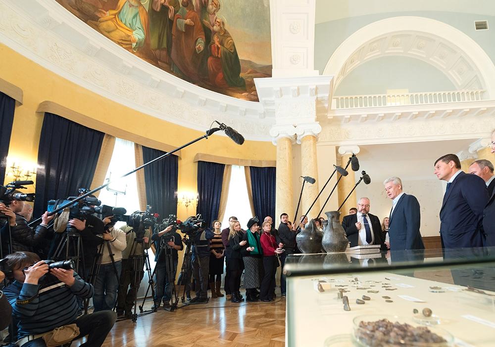Завершение реставрации усадьбы Гагарина