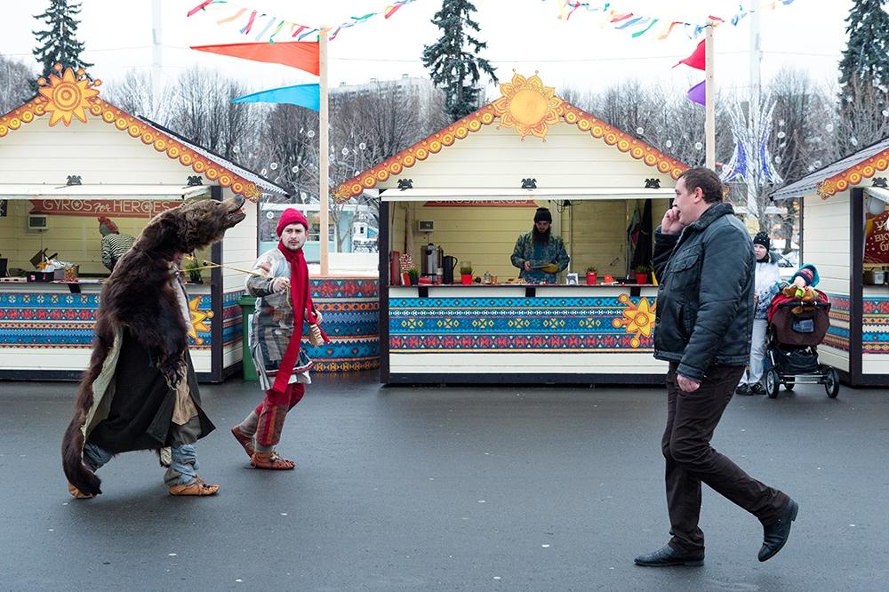 Масленичный фестиваль на ВДНХ