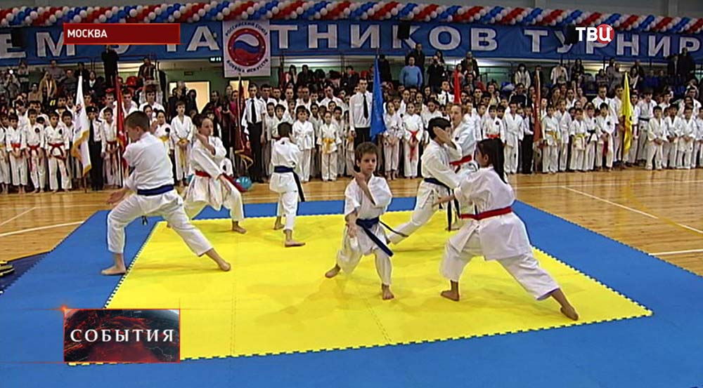 Военно-спортивный праздник в честь Дня защитника Отечества в столичном Дворце борьбы имени Ивана Ярыгина