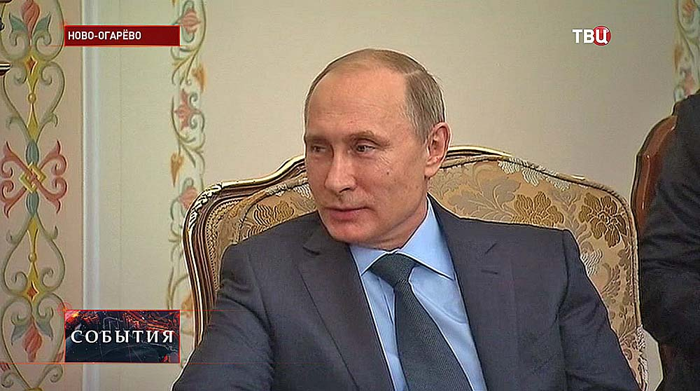 Владимир Путин встретился с президентом Кипра