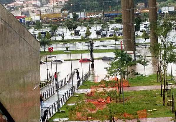 Наводнение в Сан-Пауле