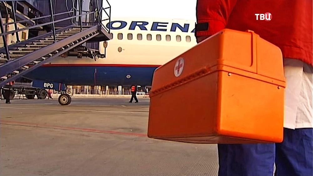 В Москву доставили тяжелобольных детей из Донбасса