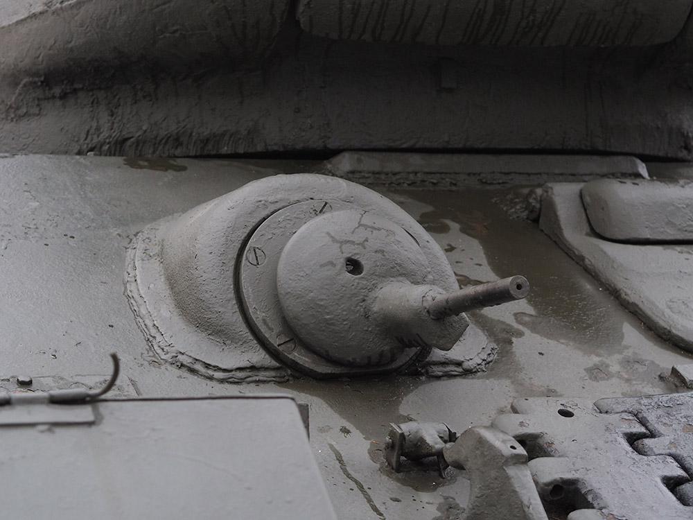 Курсовой пулемет танка Т-34