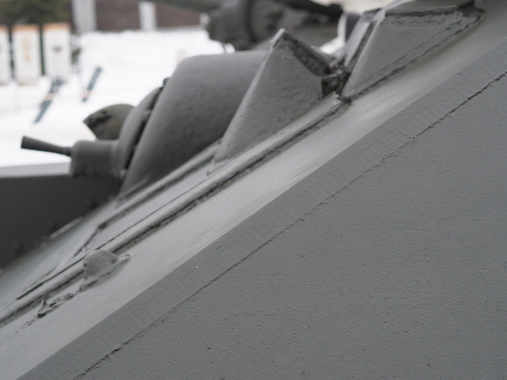 Рациональный угол наклона лобовой брони танка Т-34