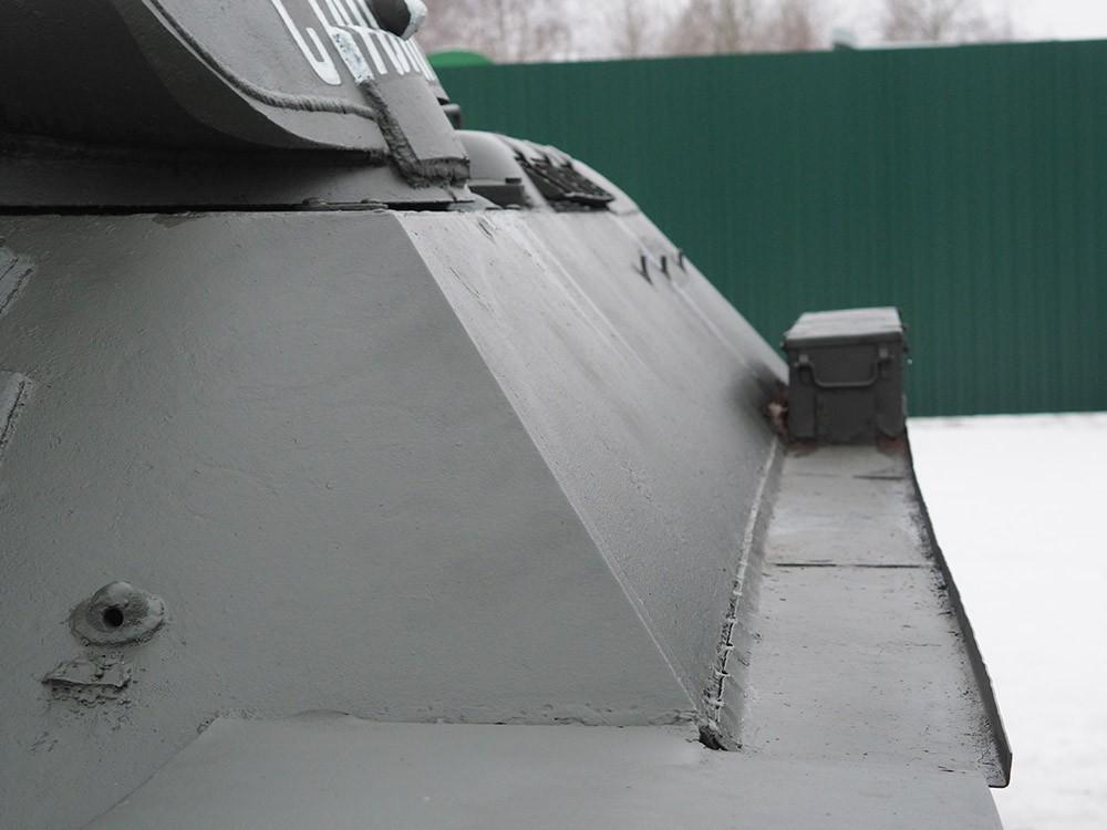 Углы наклона броневых листов танка Т-34
