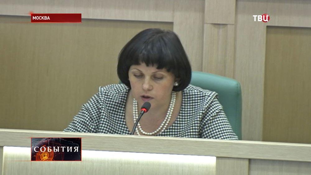 Сенатор, член Комитета Совета Федерации по конституционному законодательству и государственному строительству Елена Афанасьева