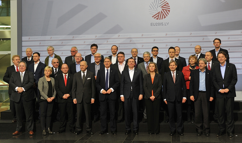 Министры иностранных дел ЕС на встрече в Латвии
