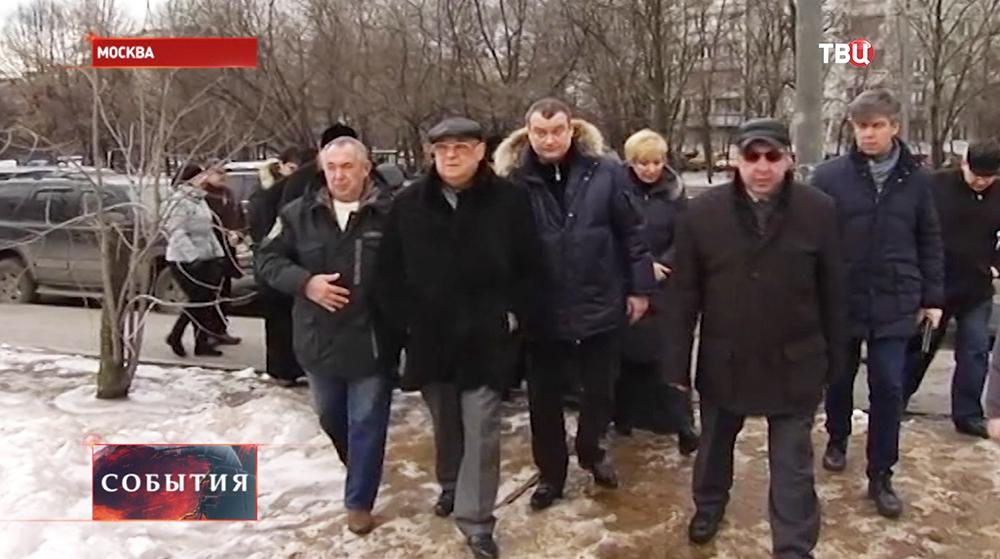 Владимир Ресин инспектирует ход работ
