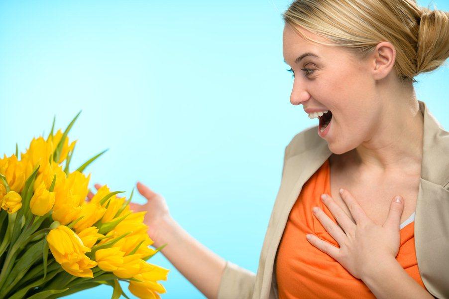 Порадуйте своих любимых цветами
