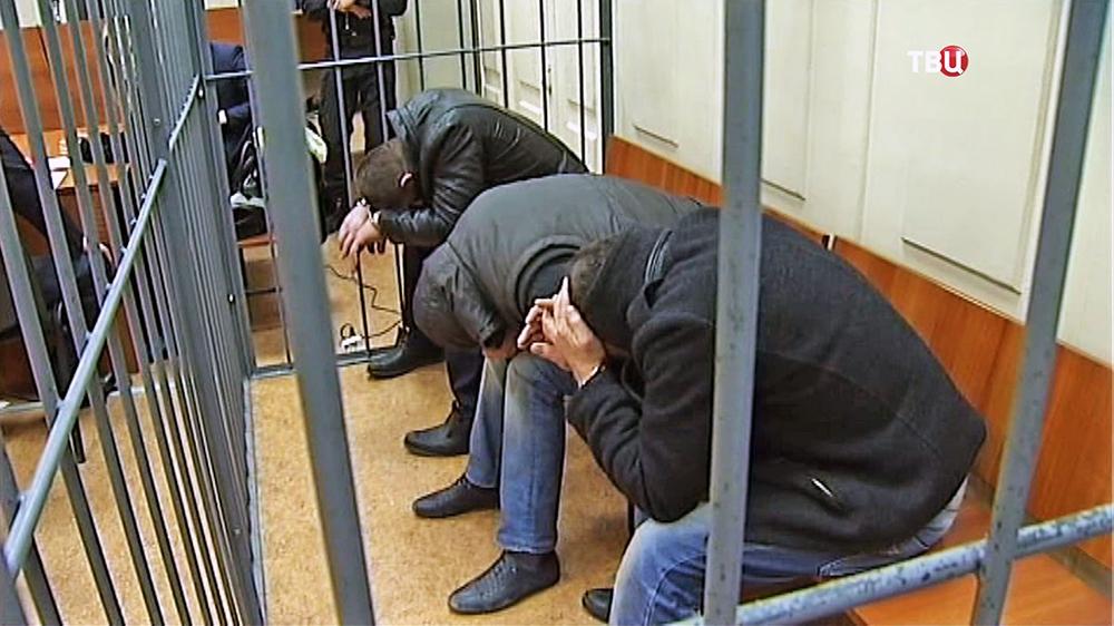Обвиняемые в убийстве Бориса Немцова в Басманном суде