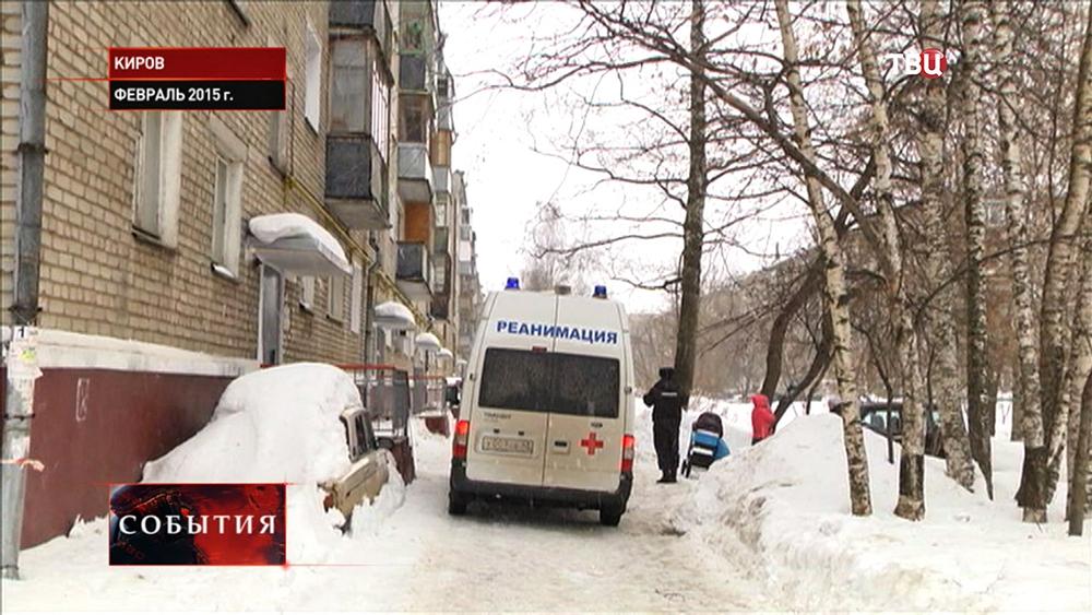 Карета скорой помощи в Кирове