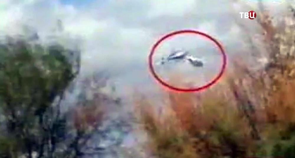 Столкновение двух вертолётов с французскими гражданами в Аргентине