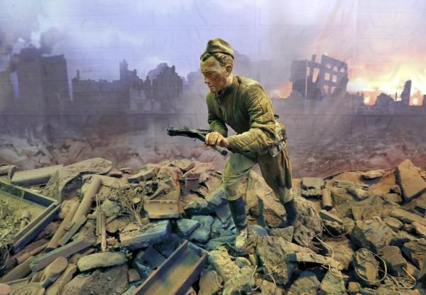 Трехмерная панорама битвы за Берлин открывается в Санкт-Петербурге