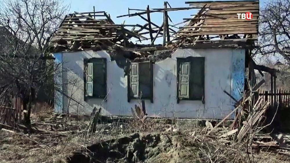 Последствия военных действий в Донецкой области