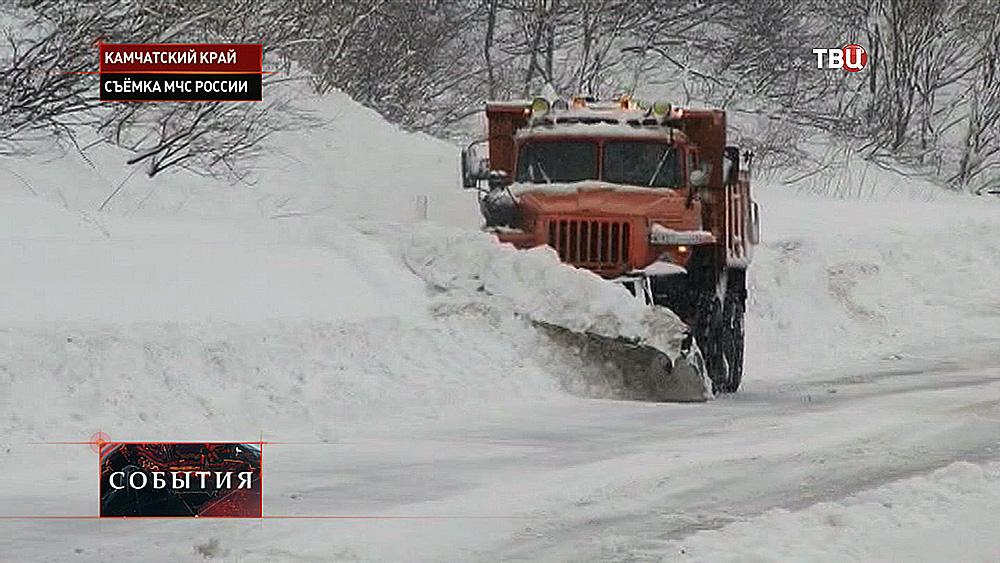 Снегоуборочная техника на Камчатском крае