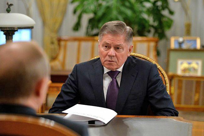 Председатель Верховного Суда Вячеслав Лебедев