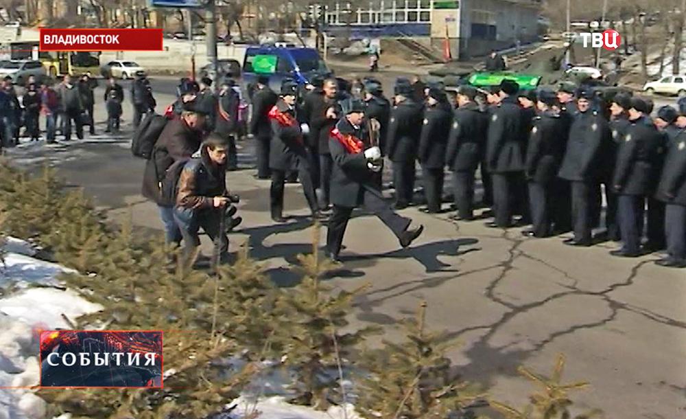 Владивосток принял международную эстафету Победы