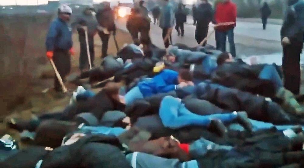 """Радикалы """"Правого сектора"""" избивают крымчан"""