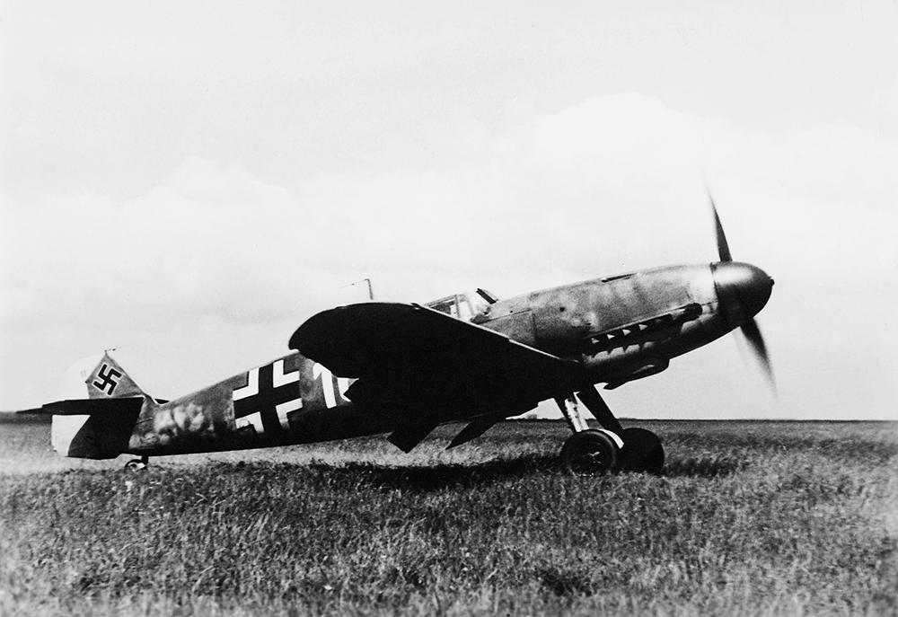 """Немецкий истребитель Ме-109 модификация F """"Фридрих"""""""