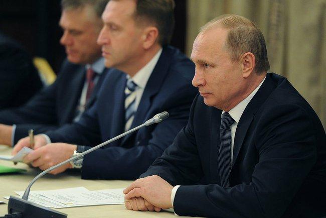 Владимир Путин на встрече с членами РСПП