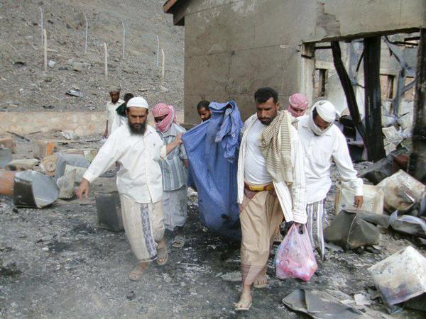 Последствия атаки на мечеть