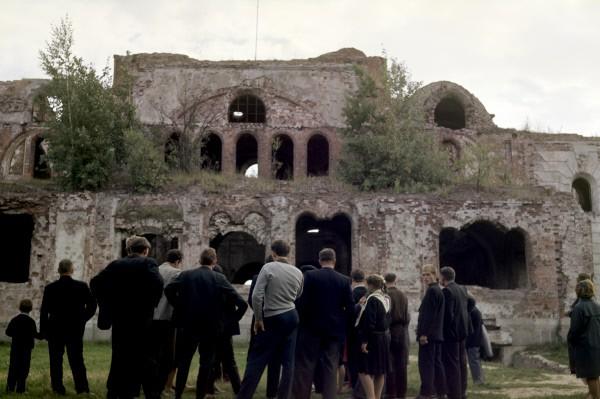 Развалины гарнизонного клуба. Брестская крепость